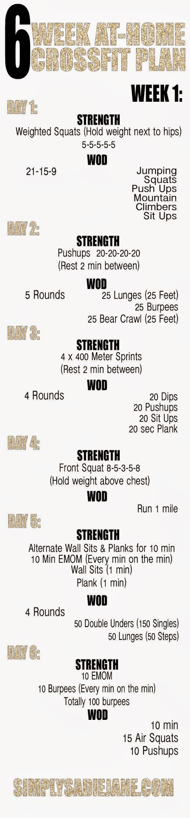 hover_share weight loss - 6 week at home crossfit plan
