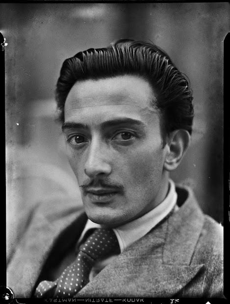 Interesting Portrait Of Young Salvador Dali