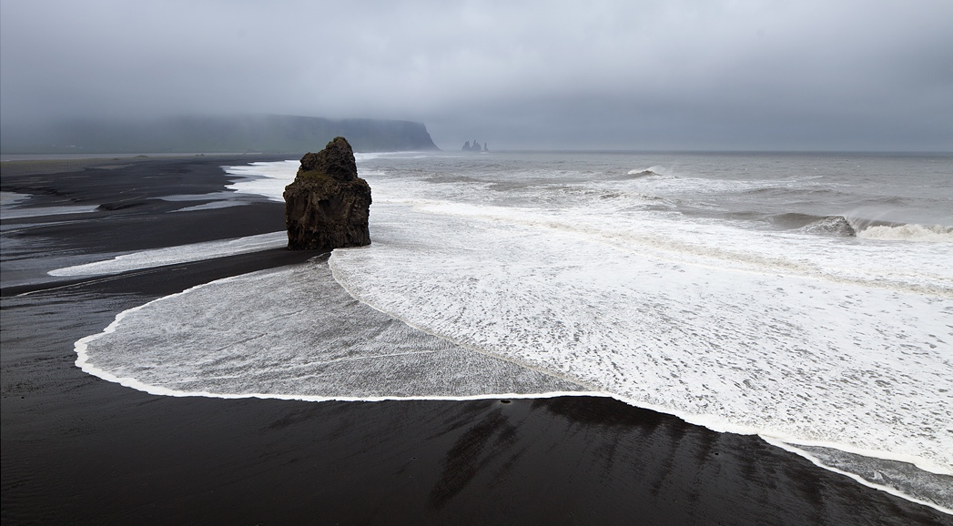I Was Always Curious To See Black Sand Shiny Smooth Pebbles Towering Basalt Columns And Dramatic Green Cliffs Line The Coast As Described Excitedly