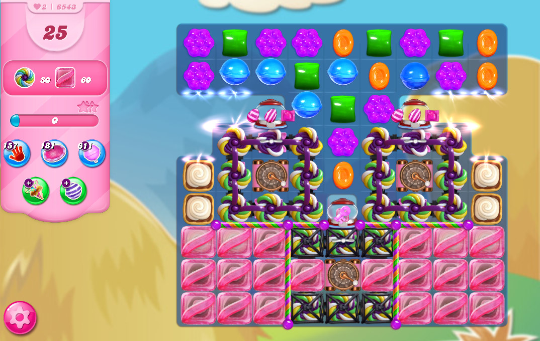 Candy Crush Saga level 6543