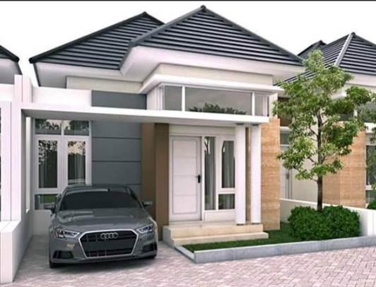 Bentuk Depan Rumah Minimalis Tpe 36