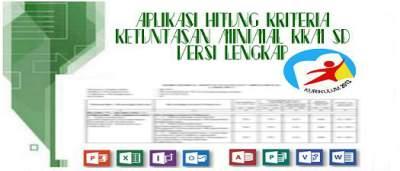 Aplikasi Hitung Kriteria Ketuntasan Minimal (KKM) SD Versi Lengkap