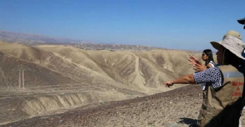 Ministra de Cultura inspeccionó geoglifos recientemente hallados en Palpa - www.cultura.gob.pe