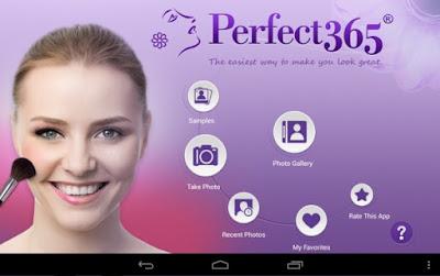 Aplikasi Foto Editor Perfect 365