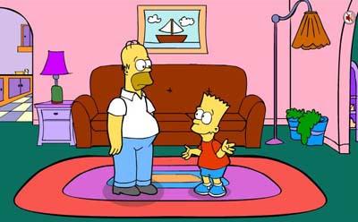 Bart Simpson Saw Game 1001 Juegos