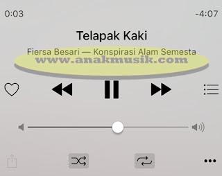 Lirik Lagu & Kunci Gitar Fiersa Besari - Telapak Kaki