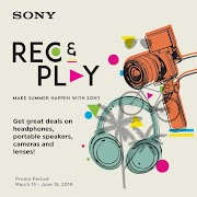Sony's REC and Play Promo gives you what you want for less