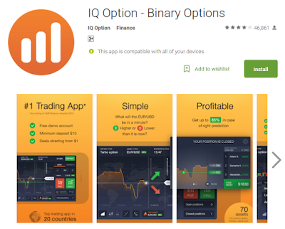 Download Android App Trading IQ Option