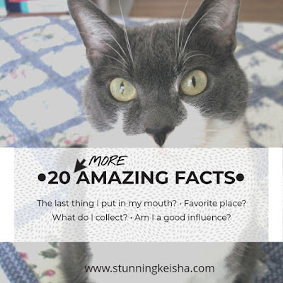 20 More Amazing Facts, a meme from Stunning Keisha
