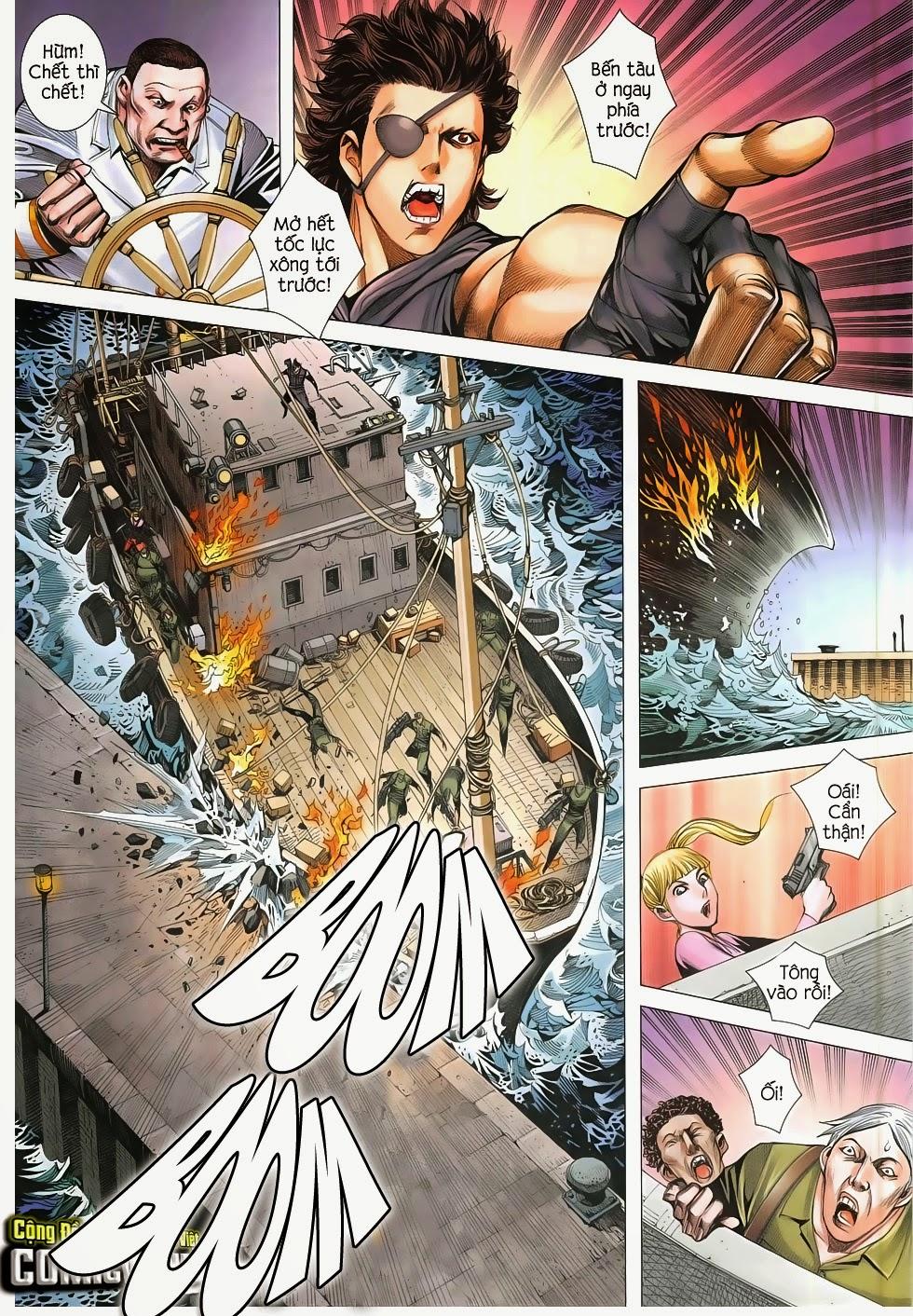 Đại Quân Phiệt chap 48: đại loạn chiến trang 10