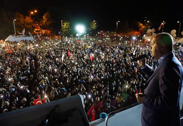 Και επίσημα δικτάτορας ο Ταγίπ Ερντογάν