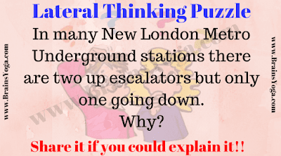 Lateral Thinking Brain Teaser