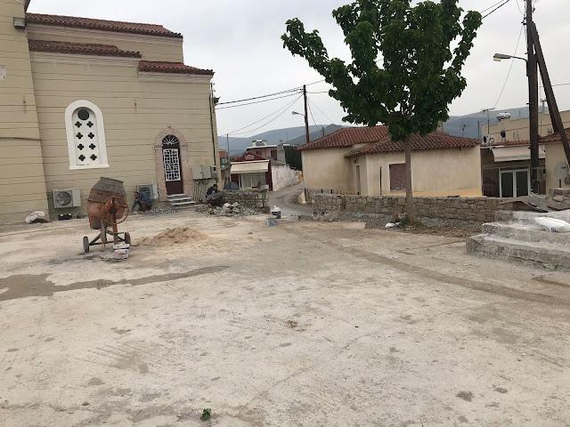 Δήμος Ναυπλιέων: Ξεκίνησαν και πάλι οι εργασίες για τη διαμόρφωση της πλατείας του Παναρητίου