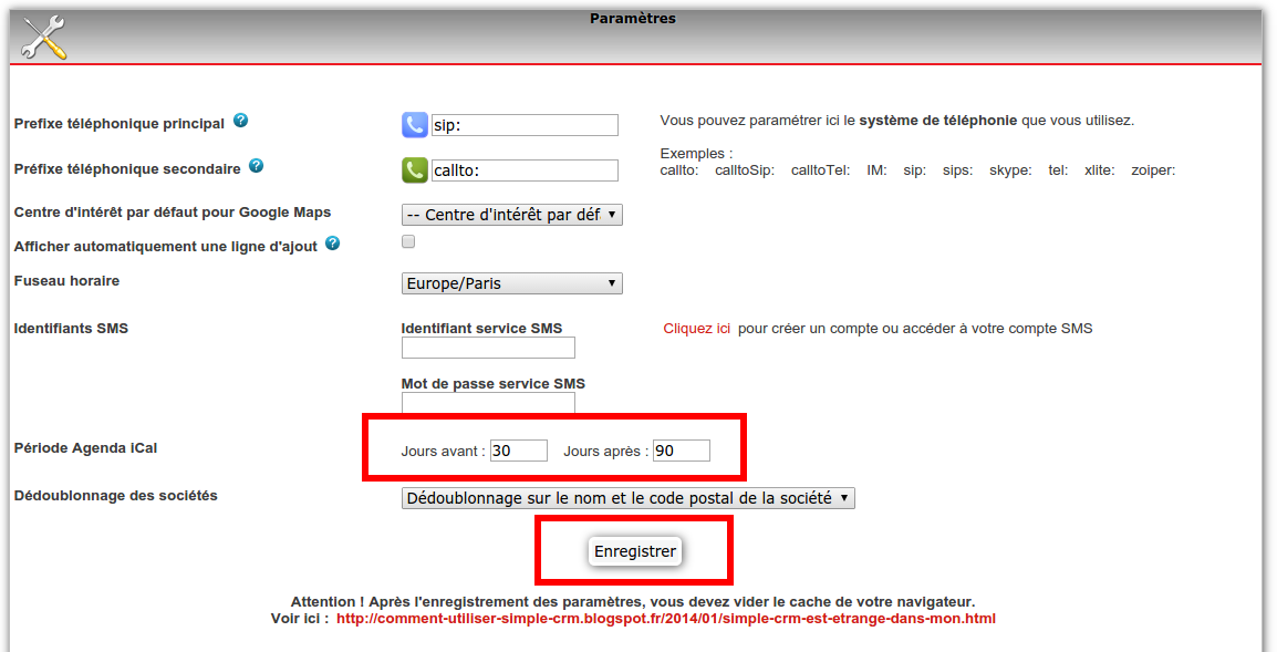 comment utiliser simple crm    octobre 2015