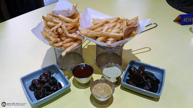 French Fries served with your choice of sauce, Brasaria,