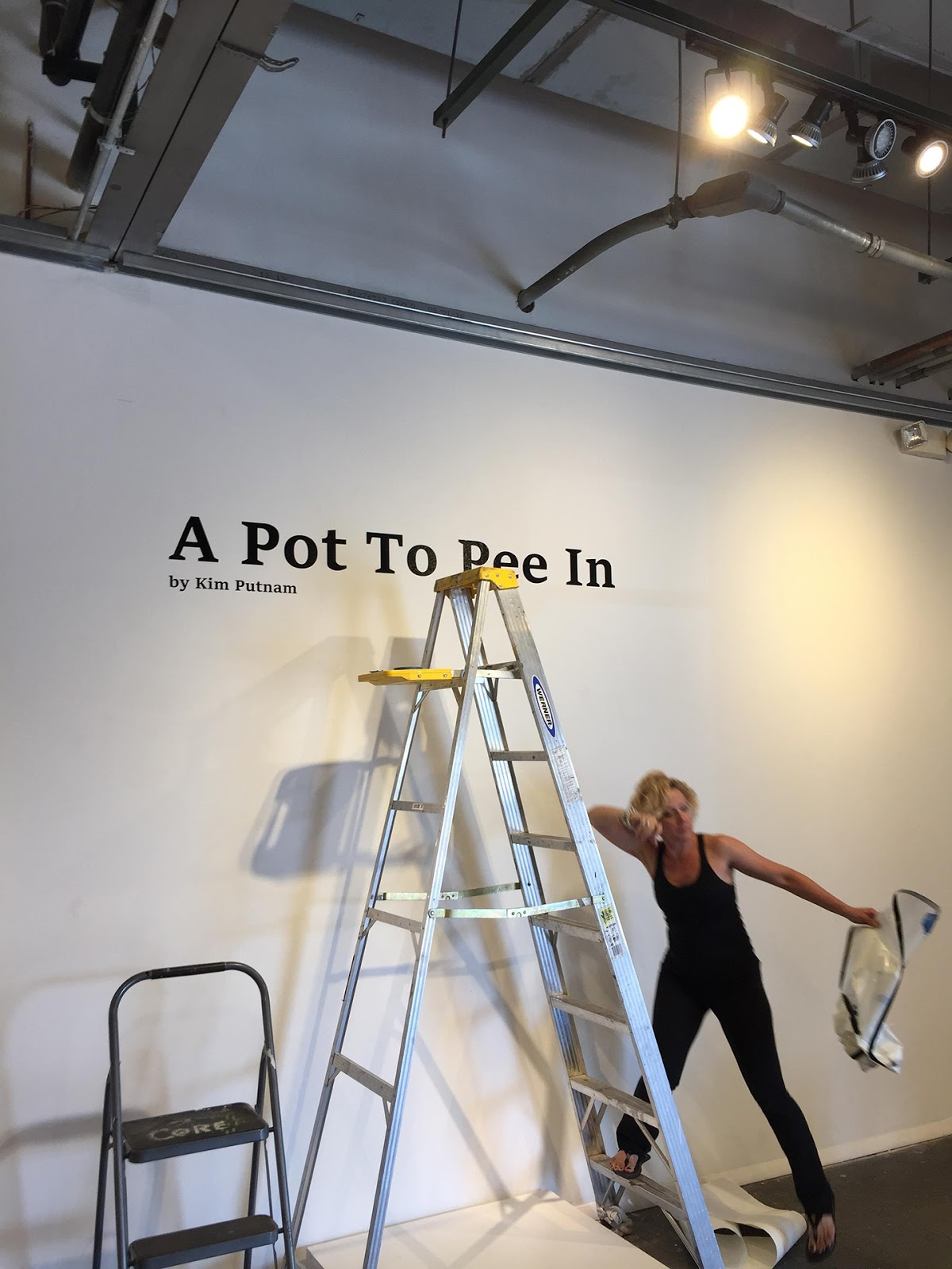 Pot to piss in saying