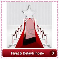 Kişiye Özel Kristal Yıldız Ödülü