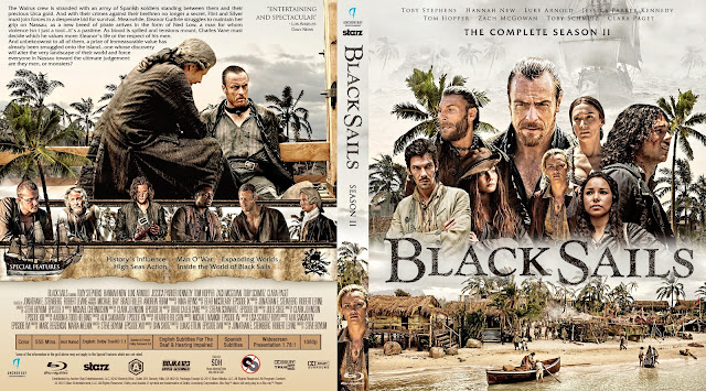 Black Sails Season 2 Bluray Cover