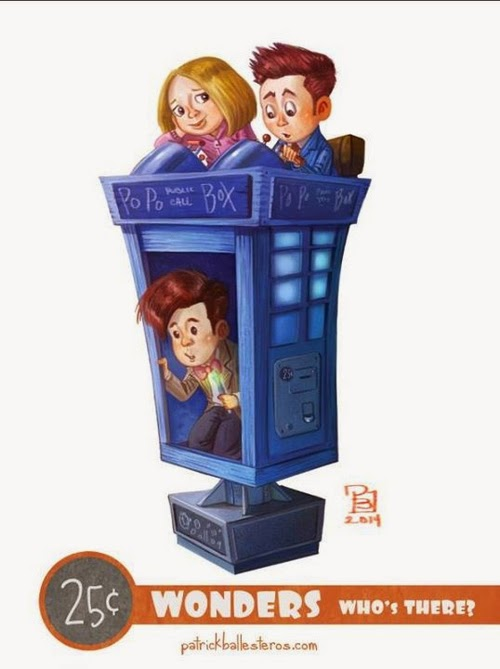 04-Dr-Who-Patrick-Ballesteros-25-Cent-Wonders-Drawings-www-designstack-co