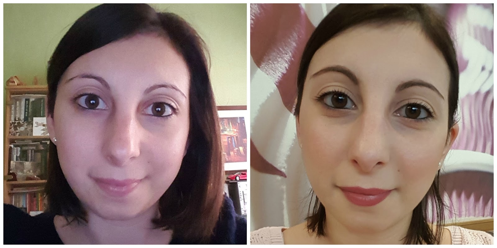 Review vichy dermablend 3d correction foundation every beauty left no makeup right wearing vichy dermablend 3d correction foundation geenschuldenfo Gallery