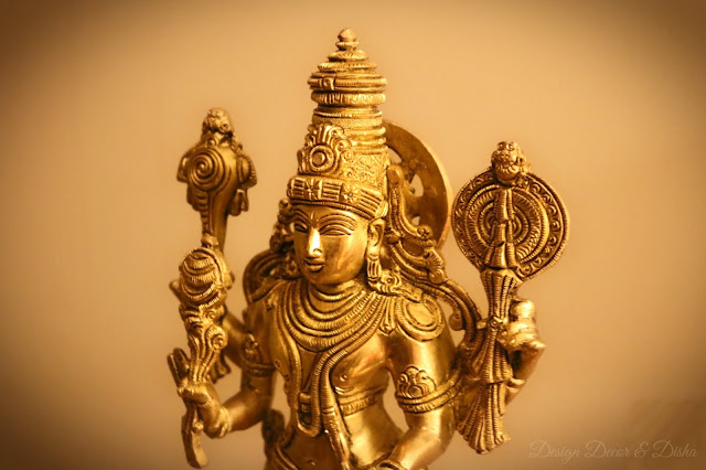 Vishnu and Bharatnatyam in home decor