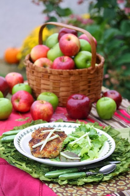 Apple Crab Cakes
