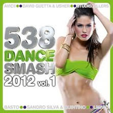 cd - CD 538 Dance Smash 2012