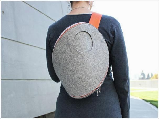 сумки из фетра Josh Jakus. Original bag made of felt