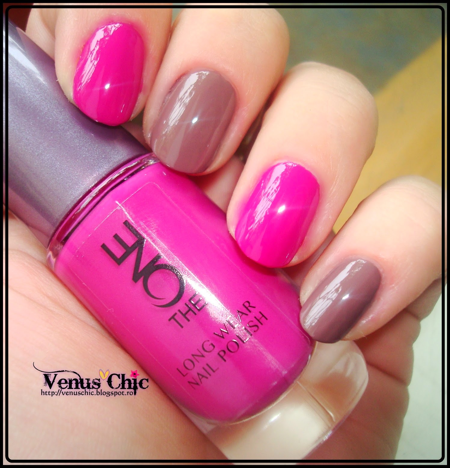 Venus Chic The One By Oriflame The One Long Wear Nail Polish Review Swatches