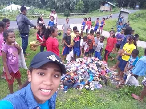 FORADES dan Karang Taruna Menggelar Aktivitas Kebersihan di Kelimado, Kec. Boawae