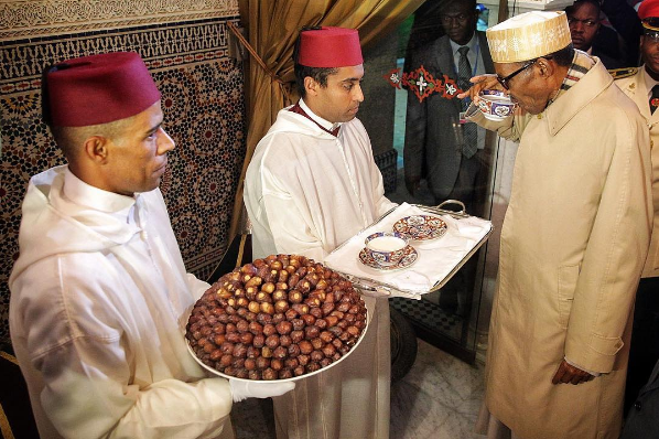 How President Buhari Arrives In Morocco...See What Happened!