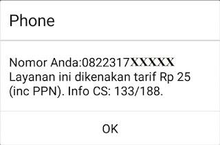 Cara cek nomor telkomsel sendiri