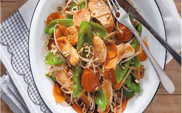 Receita de frango oriental (Imagem: Reprodução/Receitas Nestlé)
