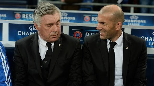 Ancelotti dan Zidane