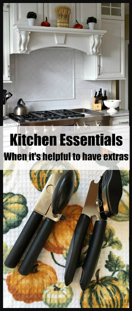 Kitchen Essentials for Thanksgiving - When it's good to have a spare