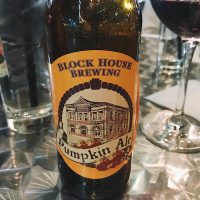 block house brewery pumpkin ale