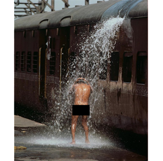 male genital odor, public bathing