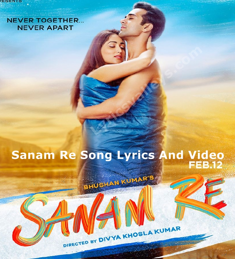 Album Tu Mera Hai Sanam Pagalworld Song Com: Sanam Re Song Lyrics And Video