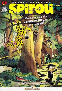 Chaque mercredi, Spirou, numéro 4169, année 2018