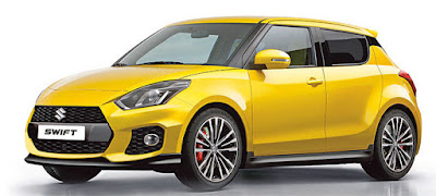 upcoming 2017 Maruti Suzuki Swift yellow image