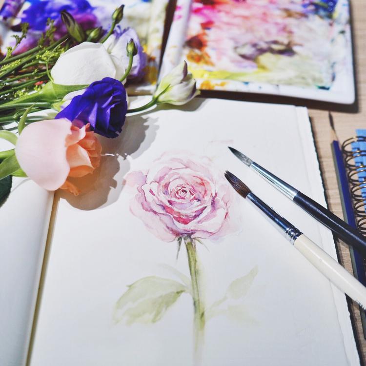 watercolor class singapore bynd artisan