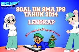 Download Soal UN SMA 2014 Jurusan IPS All Mapel