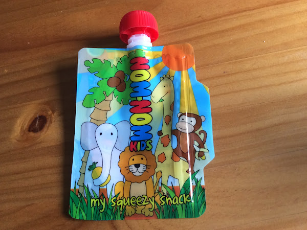 Nom Nom Kids Reusable Pouch Review