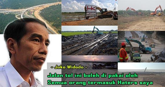 Inilah Daftar Proyek yang Dibangun Jokowi Selama Pimpin RI