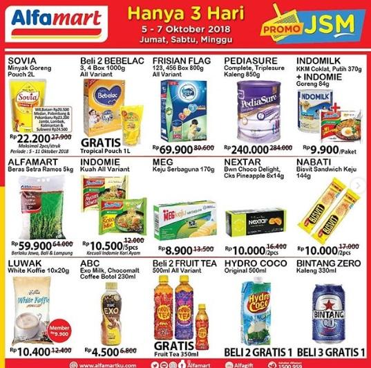 Promo JSM Alfamart 5-7 Oktober 2018