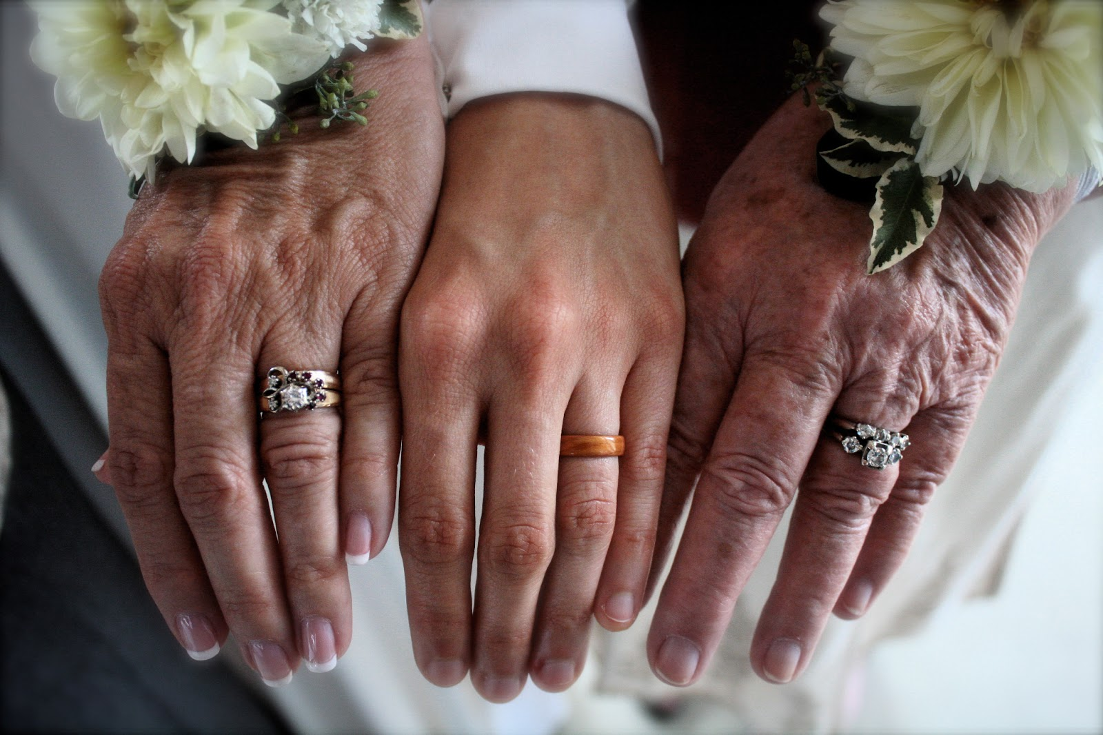 Wear The Warmth Of Wood Three Generations Of Wedding Rings