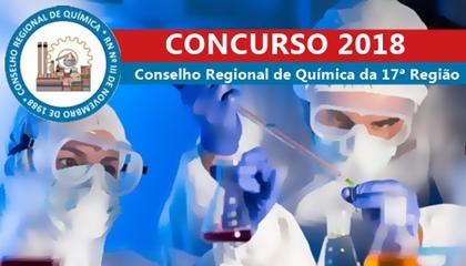 Concurso CRQ 17ª região AL 2018