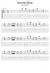 Eminem - Real Slim Shady Free Guitar Tabs - Chords - Online Guitar Lessons/Notes