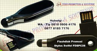 USB Stylus Swifel FDSPC28 Black, Flashdisk Promosi Plastik, Souvenir USB Flashdisk Stylus, Usb Plastik, USB FLASHDRIVE PLASTIK, usb plastik, usb stylus
