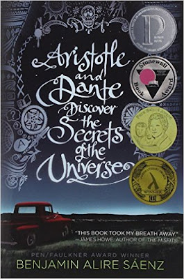 https://www.amazon.com/Aristotle-Dante-Discover-Secrets-Universe/dp/1442408936/ref=sr_1_1?ie=UTF8&qid=1473115347&sr=8-1&keywords=aristotle+and+dante+discover+the+secrets+of+the+universe